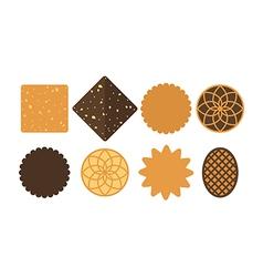 Cookie Set vector image vector image