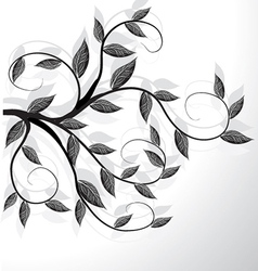 Abstract tree design vector image