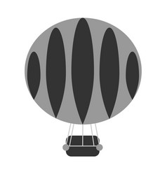 Aerostat-balloon vector