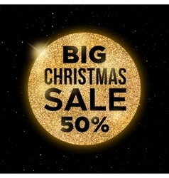 Big Christmas Sale promotion banner vector