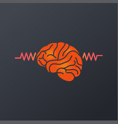 Epilepsy logo icon vector