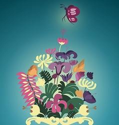 Flora preview vector