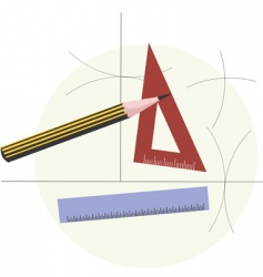 graphic tools vector image