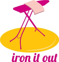 Iron It Out vector