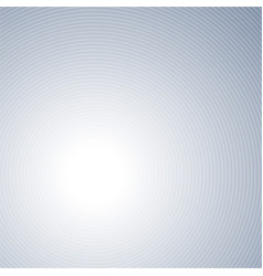 light gray concentric background vector image