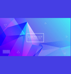 Modern abstract polygonal background vector