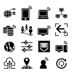 Network idea concept icon vector