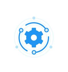 upgrade icon vector image