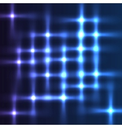Disco lights shining background vector image vector image