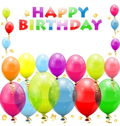 Birthday Frame vector image vector image