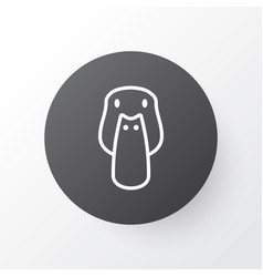 mallard icon symbol premium quality isolated duck vector image
