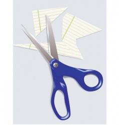 scissors vector image