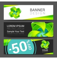 abstract ecology concept background design banner vector image vector image