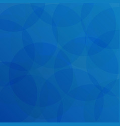 abstract of blue circle pattern background vector image