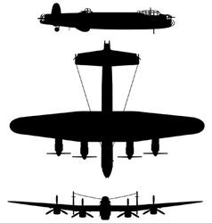 Avro Lancaster bomber vector