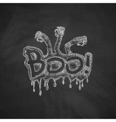 Boo icon vector