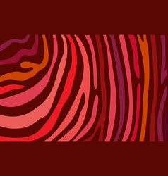 bright red horizontal abstract wallpaper color vector image