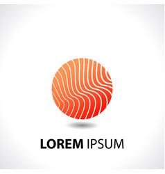 emblem logo design template vector image