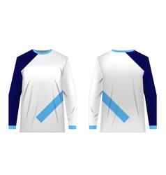 Jersey design templates vector