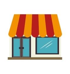 market buy shop store icon design vector image