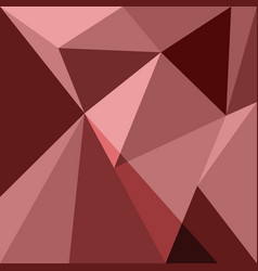Red low poly design element background vector