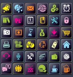 smart app icons vs vector image