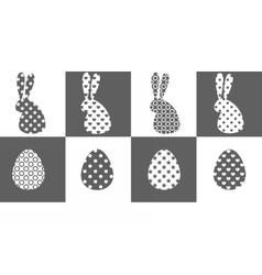grayeaster vector image