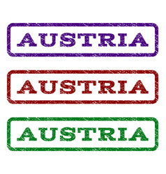 Austria watermark stamp vector