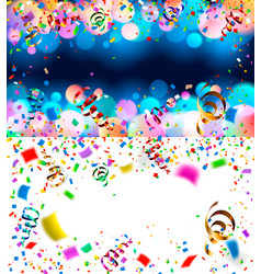 backgrounds with confetti vector image