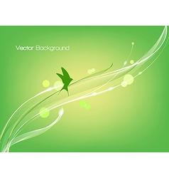 Bird flies vector image vector image