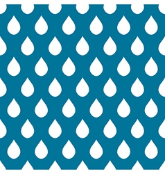 Blue White Water Drops Background vector image