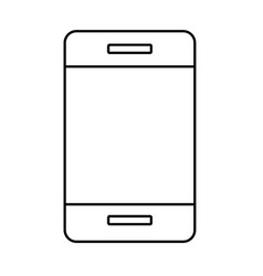 cellphone isolated icon vector image
