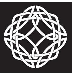 Celtic knot design vector
