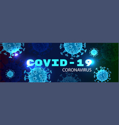 covid19-19 realistic background vector image