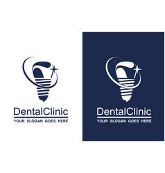 Dental icon set vector