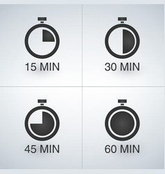 Every 15 minutes timer set vector