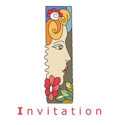 I invitation vector