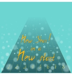 New Year Motto vector
