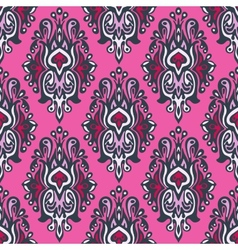 Royal seamless pattern damask vector image