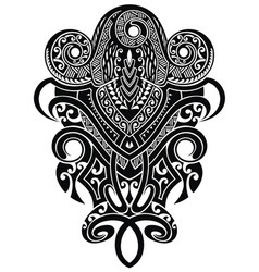 tattoo b graphics vector image
