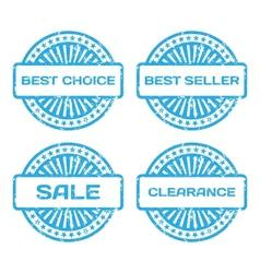 Grunge Rubber Stamp Set Sale best seller best vector image