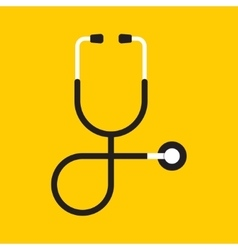 Stethoscope Health care vector image vector image