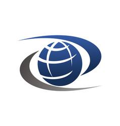 world exchange vector image