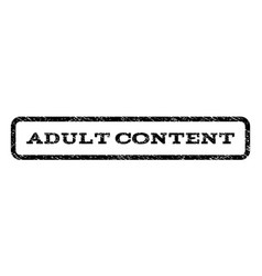 adult content watermark stamp vector image