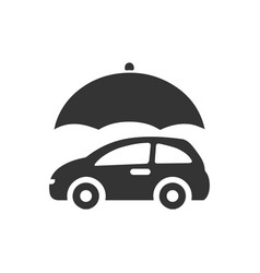 Auto insurance icon vector
