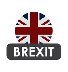 Brexit icon vector