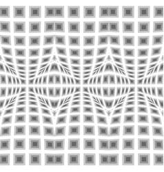 Design seamless warped geometric pattern vector