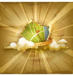 Map Old old style background vector