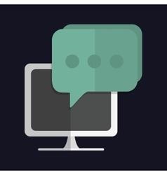 Media icon Computer design graphic vector