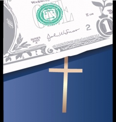 Money bible vector